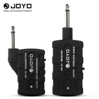 Joyo JW 01 Guitar Bass Wireless Digital Transmitter Receiver 2 4GHZ 4 Channels Anti Interference 5v