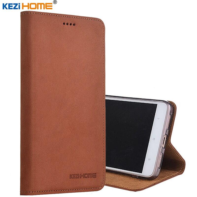 for xiaomi mi a1 mi5x case Flip matte genuine leather soft TPU back cover for xiaomi mi 5x coque
