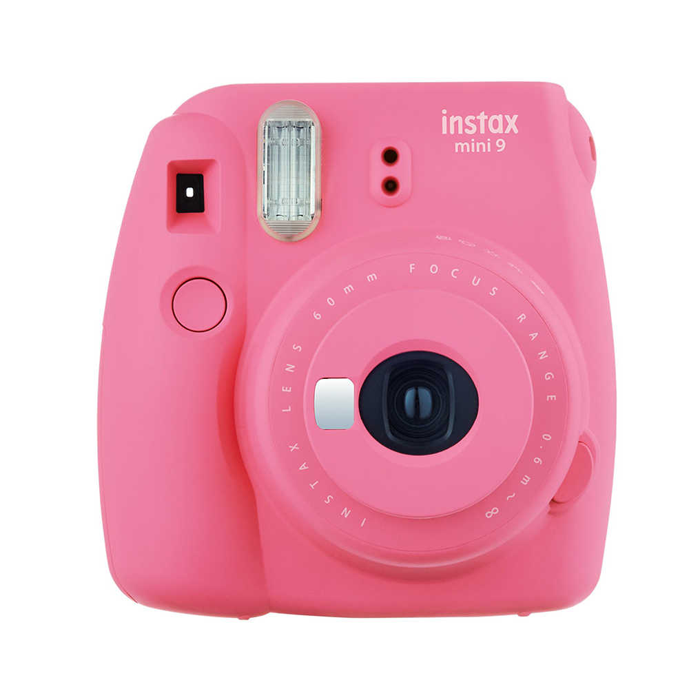 100% حقيقية فوجي فيلم Instax كاميرا صغيرة 9 فوجي لحظة ترقية صغيرة 8 فيلم كاميرا فوتوغرافية عدسة صورة شخصية + عن قرب عدسة 5 ألوان