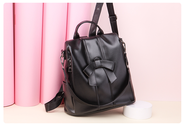 HTB1kdzJUHvpK1RjSZPiq6zmwXXaX - Leisure Women Backpack High Quality Leather Lady Anti Theft Shoulder Bags Lovely Girls School Bags Women Traveling Backpack