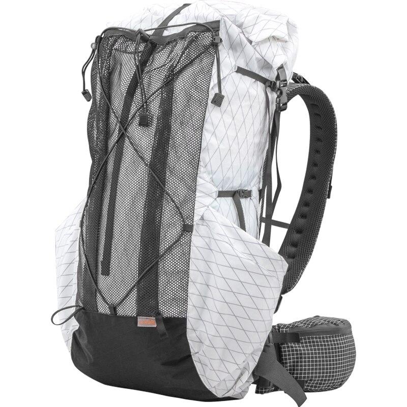 35L-45L ligero duradero viaje Camping senderismo mochila exterior ultraligero sin marco paquetes XPAC y UHMWPE 3F UL engranaje