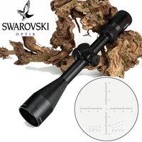 Тактический SWAROVSKl 4-16X50 ИК-оптический прицел F191 Стекло гравированный сетка с башенками сброса Охота съемки прицел