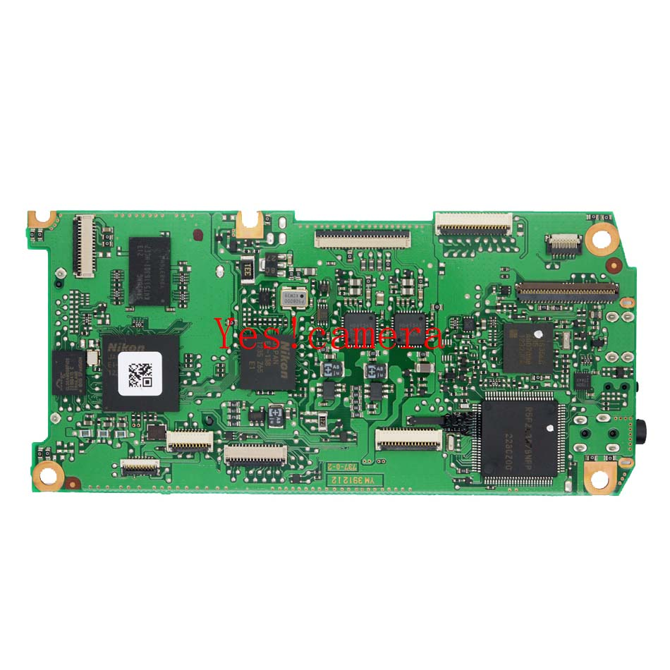 Original Main board Motherboard PCB For Nikon D3000 Camera Replacement Unit Repair Parts