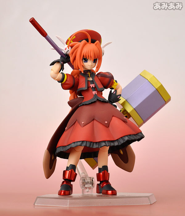 Huong Anime Figure 15 CM Magical Girl Lyrical Nanoha Vita PVC Action Figure Collectible Model Toys Doll