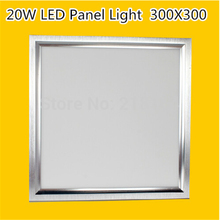 "2016 New Ultra Thin Design 9"" 300*300MM 20W Plafon LED Ceiling Recessed Grid Downlight / Square 300*30MM Panel Light Flat Light"