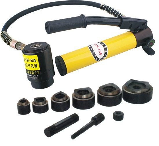 Aliexpress Com Buy Hydraulic Hole Punch Tool Syk 8a