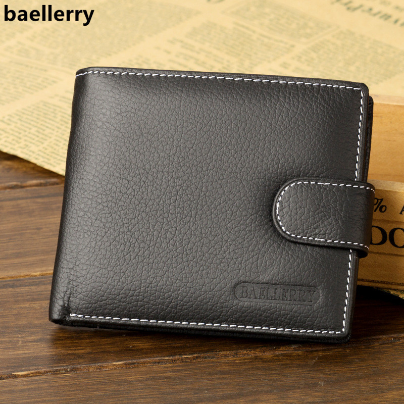 Baellerry Man Wallet 2018 Brand Men's Wallet Leather Short Retro Zipper Clasp Wallet Male Purse Dropshipping Carteira Masculina baellerry small mens wallets vintage dull polish short dollar price male cards purse mini leather men wallet carteira masculina