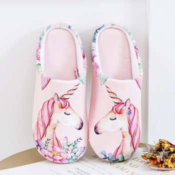 Unicorn Soft Foam Woman Slippers