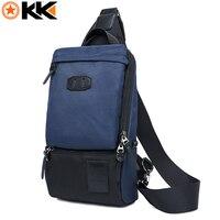 KAKA Chest Pack Bag Nylon Waterproof Men Messenger Bags Anti Theft Schoolbags For Boys Multifunction Travel