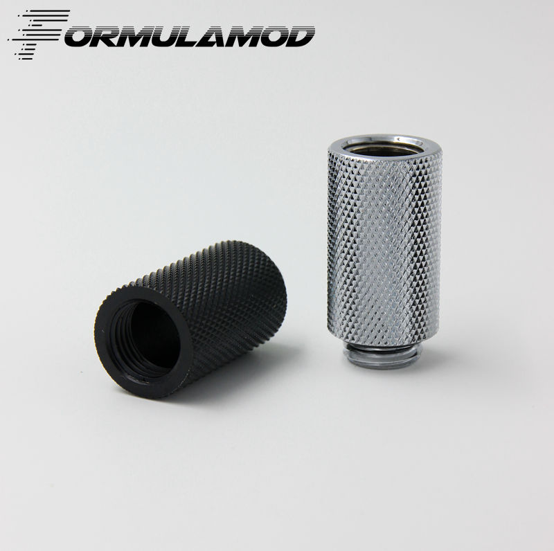 FormulaMod G1 / 4 ' White Black Silver extension within the dental screw seat (extended 30MM) water cooling fittings sabrina the magic within 4