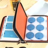 96 Slots Plus Size Nail Art Stamping Plate Bag Large Volume Stamp Polish Templates Holder Rectangle