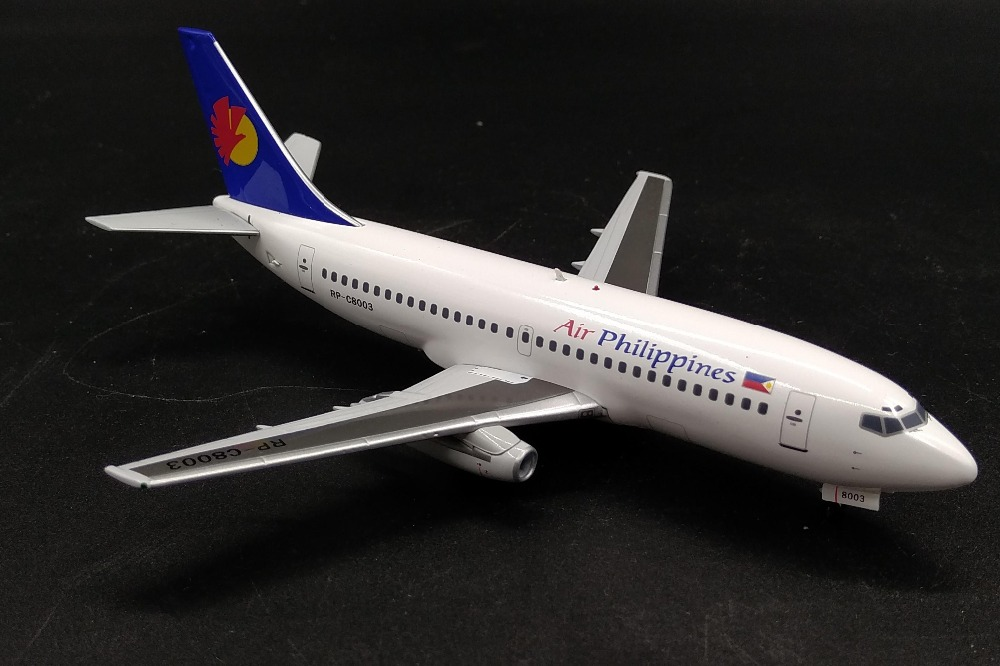 new Fine IF 200 1: 200 Philippine Airlines Boeing 737-200 RP-C8003 Alloy passenger model Collection model Holiday gifts bbox200 1 200 american frontier airlines boeing 737 200 aircraft model n1pc alloy collection model