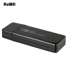 Image 3 - 11AC 1200Mbps USB 3,0 Wireless Adapter 2,4G/5,8G Dual Band USB Wifi Empfänger 2T2R Antenne AP drahtlose Netzwerk Karte für Desktop
