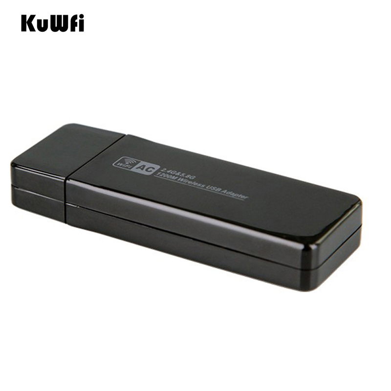 Image 3 - 11AC 1200Mbps USB3.0 Wireless Adapter 2.4G/5.8G Dual Band USB Wifi Receiver 2T2R Antenna AP Wireless Network Card for Desktop-in Network Cards from Computer & Office