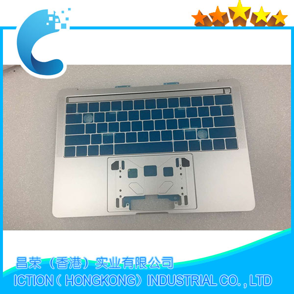 Original New A1706 Topcase with US standard for MacBook A1706 Topcase 2016 2017 Years Silver Color