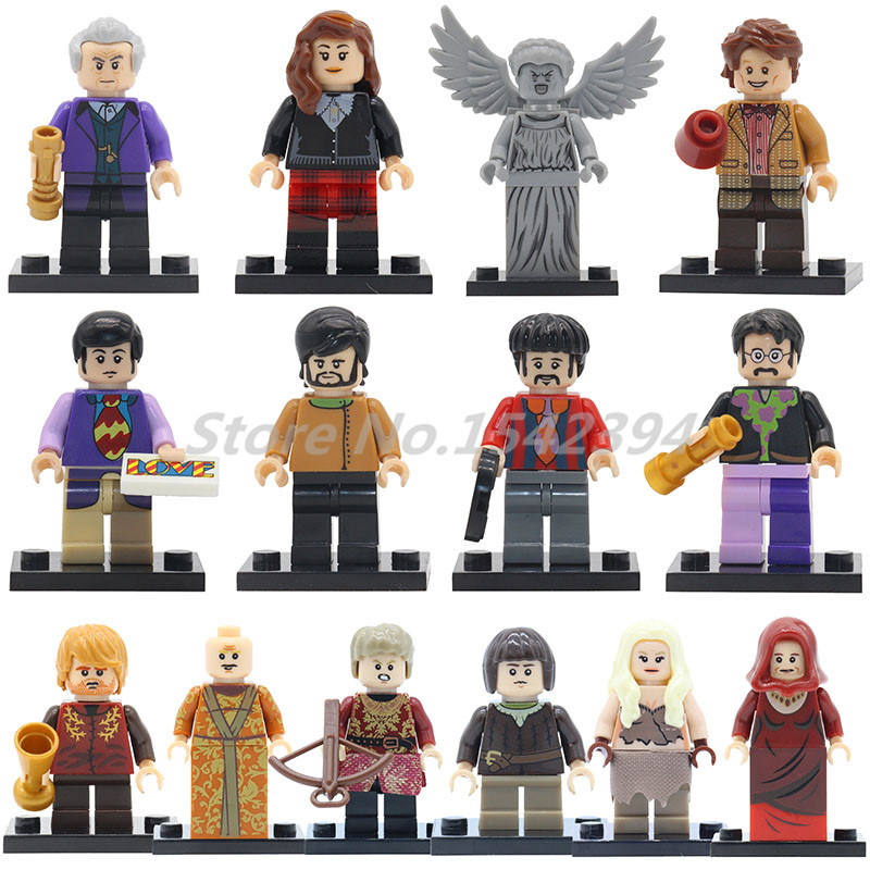 Game Of Thrones Ice And Fire Series Wholesale 20pcs/lot Action Building Block Beatles Arya Stark Classic DIY Toys For Children удочка зимняя swd ice action 55 см