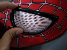 Cosplay The Amazing Spider-Man 2 Spider Helmet spiderman homecoming Faceshell With Lenses&Fabric mask