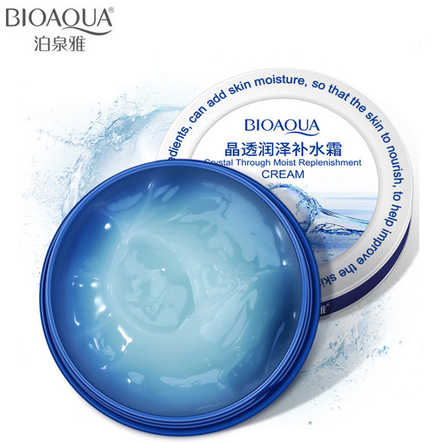 BIOAQUA Face Crystal Moisturizing Day Cream Skin Care Lifting Firming Anti Wrinkle Whitening Hyaluronic Acid Cream Facial Care
