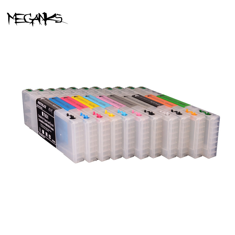11 colors 300ml refill Ink Cartridge For EPSON pro 4900 Refillable Ink Cartridge With Auto Chip hisaint 70 ml refill dye ink 6 ink cartridge ink for epson l101 l111 l201 l211 l301 l351 l353 l l551 l558 for espon printer ink