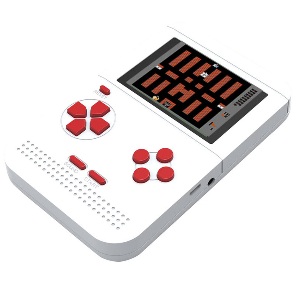 GRWIBEOU Retromax 8 Bit Mini Handheld Game Console Built in 300 Games 3 inch LCD Video Game Player Kids Gift-in Handheld Game Players from Consumer Electronics