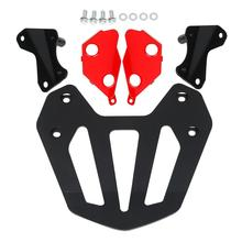 Motorcycle Black Rear Carrier With Rack Mount Bracket kit For Honda GL1800 Goldwing F6B 2013 2014 motorcycle rear view mirrors w smoke signal lens for honda goldwing gl1800 f6b 2013 2017 16