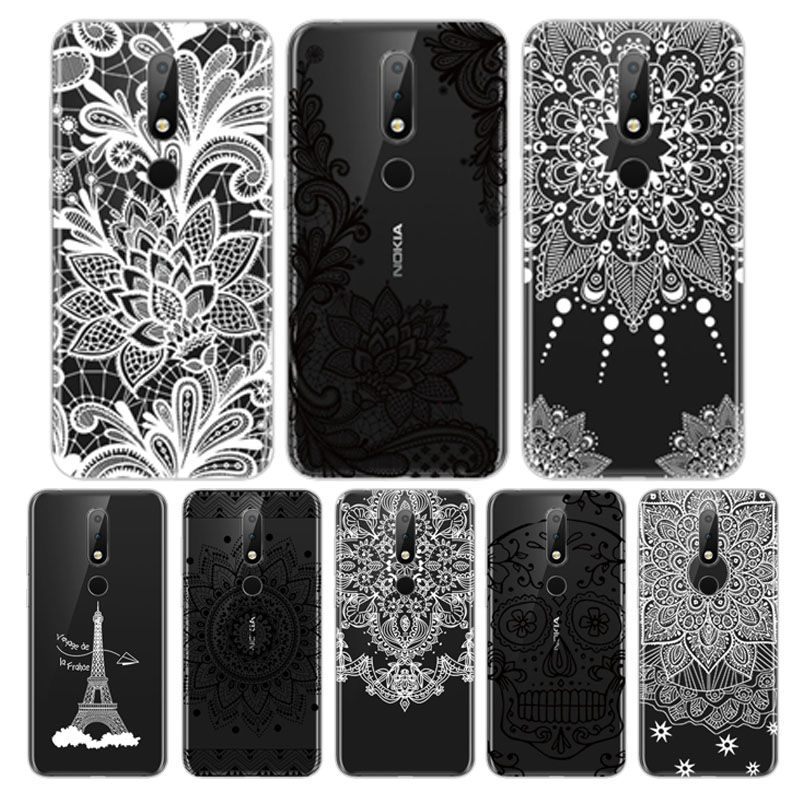 Arvin Silicone Fundas for <font><b>Nokia</b></font> X6 2018 Soft <font><b>TPU</b></font> <font><b>Nokia</b></font> 2 3 5 6 7 8 9 Cover Painted Phone Case for <font><b>Nokia</b></font> 3.1 <font><b>6.1</b></font> Smart Back Cover image