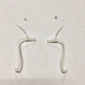 Image 1 - 4 adet/paket yedek işitme tüpleri aksesuarı borular ve kubbe sağır insanlar için uçları İnce boru kulak işitme cihazı ince tüp