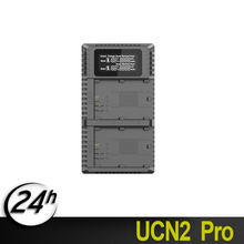Official Nitecore UCN2 Pro Dual Slot USB QC Camera Battery LP-E6 LP E6 LPE6 Charger For CANON DSLR EOS 60D 5D3 7D 6D 5D Mark II