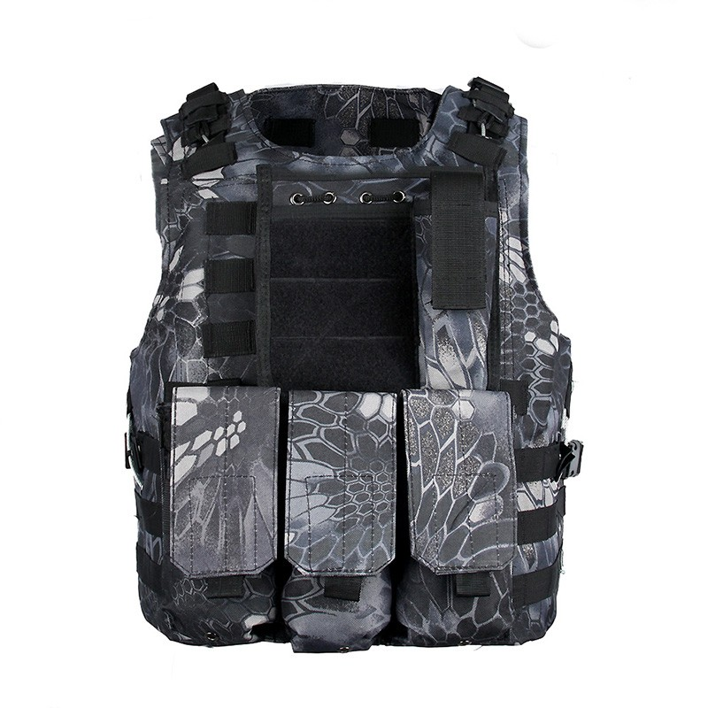 Army Military Molle System Tactical Vest Combat CS Vest Airsoft Paintball Game Vest  typhon free shipping