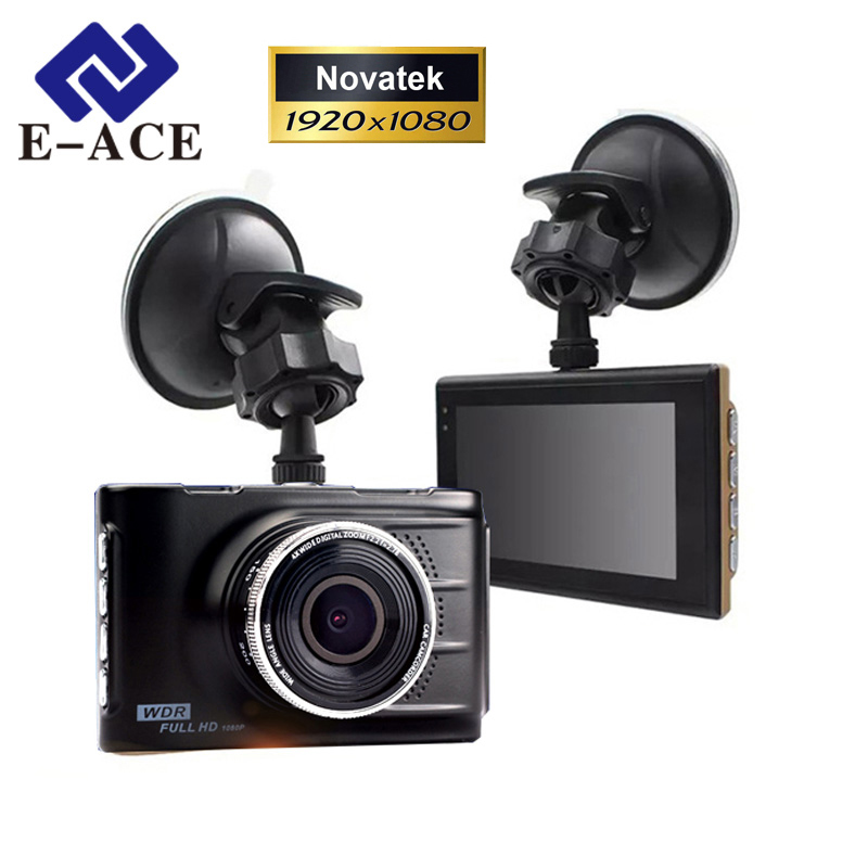 E-ACE Original Novatek 96223 Mini Car Dvr Full HD 1080P Digital Video Recorder Dash Camcorder Camera Registrator Night Vision