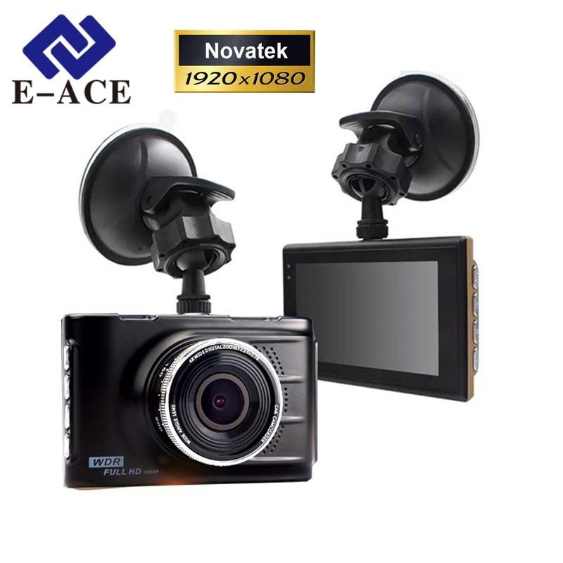imágenes para E-ACE Original Novatek 96223 Mini Coche Dvr Hd 1080 P Grabador de Vídeo Digital Videocámara Dash Cámara Registrator Visión Nocturna