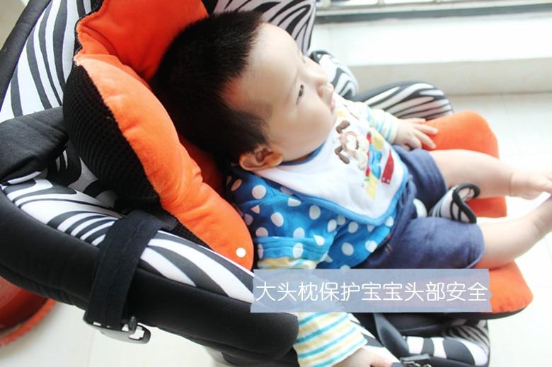 4 ფერები Baby Stroller Cushion For Stroller Seat, Thick - ბავშვთა საქმიანობა და აქსესუარები - ფოტო 5