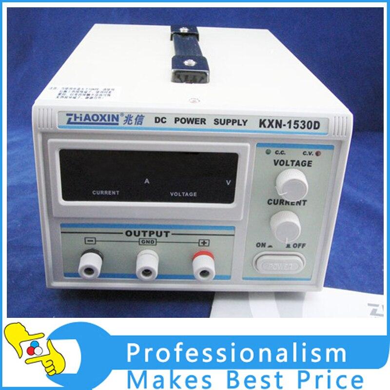 New ZhaoXin KXN-1530D 0-15V ,0-30A adjustable dc power supply switching dc power supply импульсный источник питания zhaoxin em trust kxn 6020d 60v20a