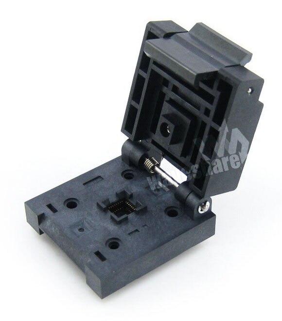 ФОТО QFN32 MLP32 MLF32 QFN-32(40)B-0.5-02 QFN 5x5 mm 0.5Pitch IC Test Burn-In Socket Enplas Waveshare Freeshipping