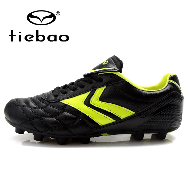TIEBAO Professional Kids Soccer Shoes Children Football FG & HG & AG Solessoccer Shoes For Boys Girls Football Boots health top soccer shoes kids football boots cleats futsal shoes adult child crushed breathable sport football shoes plus 36 45