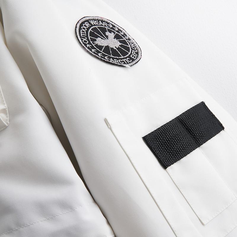 81022d Avec Blanc D'hiver Femmes Bas Canard Duvet Mode Long 90 Nouveau Conception De Capuche Le Phoenix Vers Manteau Femme Vêtements Veste Moyen q14wOxgzg