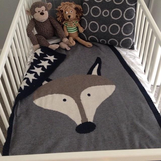 90130cm Baby Blanket Wrap Soft Cotton Baby Bed Blankets Newborn
