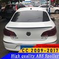 ABS материал качество новый дизайн для Volkswagen CC 2009 до 2017 спойлер праймер или белый или черный CC новый тип спойлер