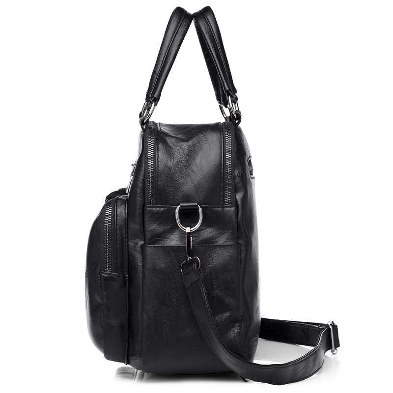 2019 женский рюкзак кожаные Брендовые женские рюкзаки высококачественные школьные рюкзаки для девочек винтажный женский рюкзак Sac a Dos Mochila