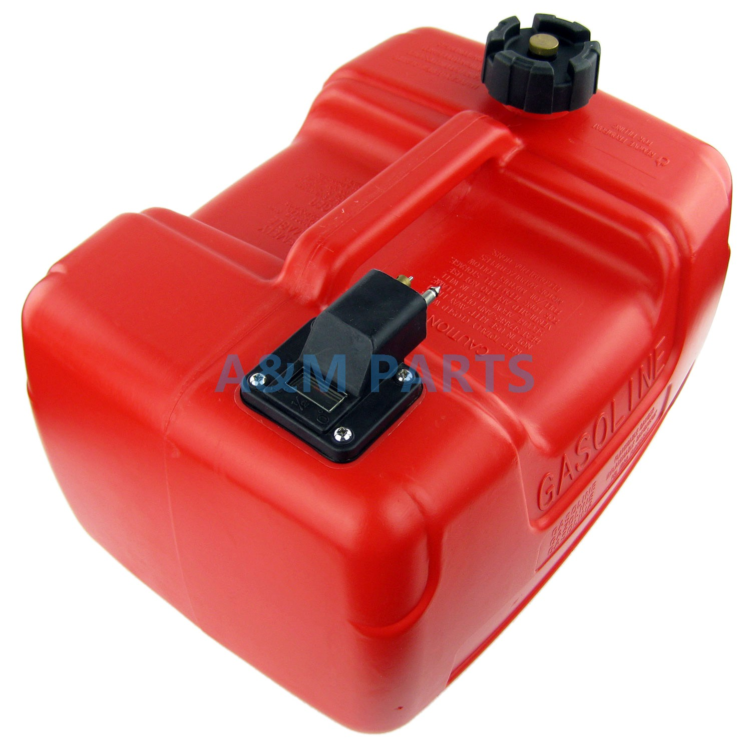 Portable boat fuel tank 3 2 gallon 12l marine outboard for Outboard motor gas tank hose