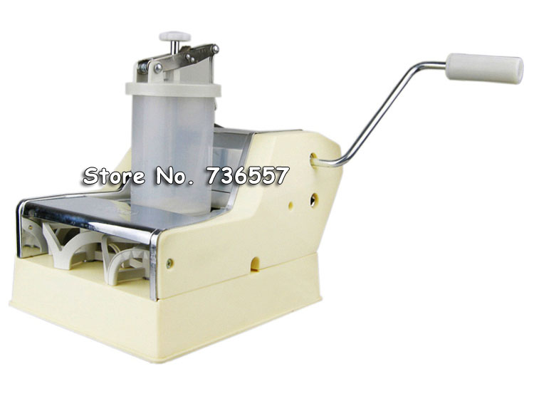 Free Shipping Small Home Use Manual Dumpling making machine / Dumpling maker high quality household manual hand dumpling maker mini press dough jiaozi momo making machine