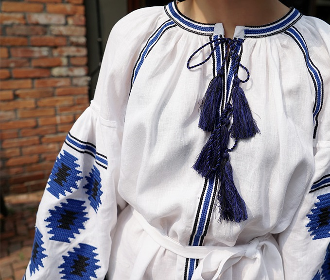 boho embroidery ethnic shirt fringe blouse summer women blouses and shirts embroidered top size autumn designs cotton dress