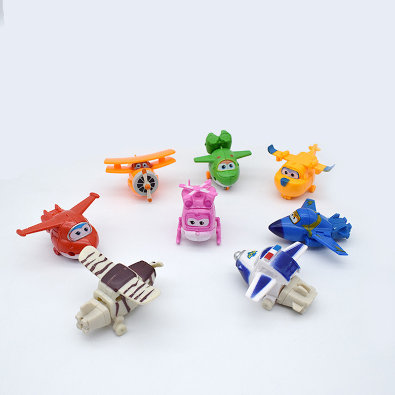 8pcs/set Newest Super Wings toys Mini Planes Transformation Robot Action Figures toys baby toys For Children Gift Brinquedos8pcs/set Newest Super Wings toys Mini Planes Transformation Robot Action Figures toys baby toys For Children Gift Brinquedos