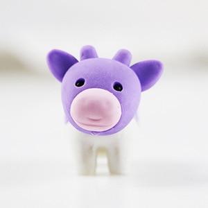 1X милый мультяшный ластик милые коровы моделирование ластик Детские Канцелярские принадлежности подарок призы kawaii школьные принадлежност...