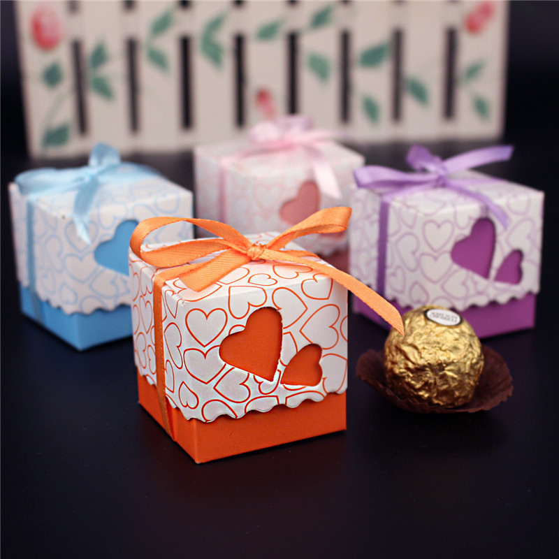 Wholesale BARGAIN PACK 100x Heart Gift//Wedding//Jewellery//Sweets//Favour Boxes