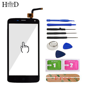 Image 3 - 100% Touch Screen Digitizer Glass Panel For ZTE Blade L2 plus L370 C370 L2Plus Front Touchscreen Adhesive+ Screen Protector Gift