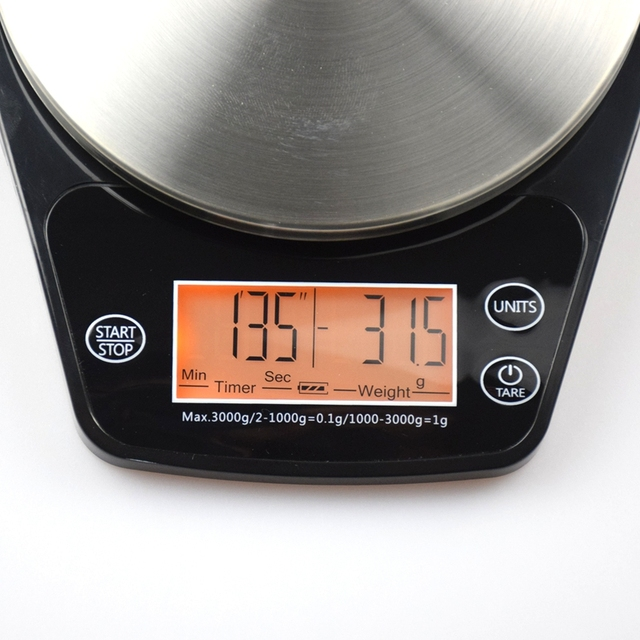 Kitchen Gray Plastic Measuring Scale