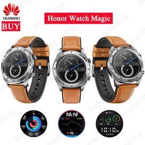 Image 1 - Смарт часы HUAWEI Honor Watch Magic Honor watch dream, оригинальные Смарт часы с поддержкой NFC, GPS, пульсометром, Android 4,4, iOS 9,0