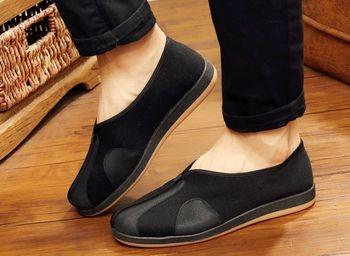 EU38 ~ EU48 unisex sztuki walki sneaker Kung fu tai chi buty wushu zen lay mnisi z shaolin kungfu buty czarny tanie i dobre opinie Flagket Hard court Początkujący Spring2019 Pasuje prawda na wymiar weź swój normalny rozmiar Bezpłatne elastyczne