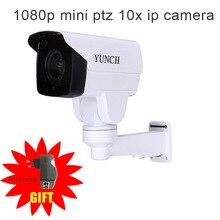 Безопасности Ротари Пуля МИНИ PTZ Ip-камера с Onvif 1080 P CCTV 4/10X ЗУМ ИК 80 М Ночного Видения для наружного наблюдения камера